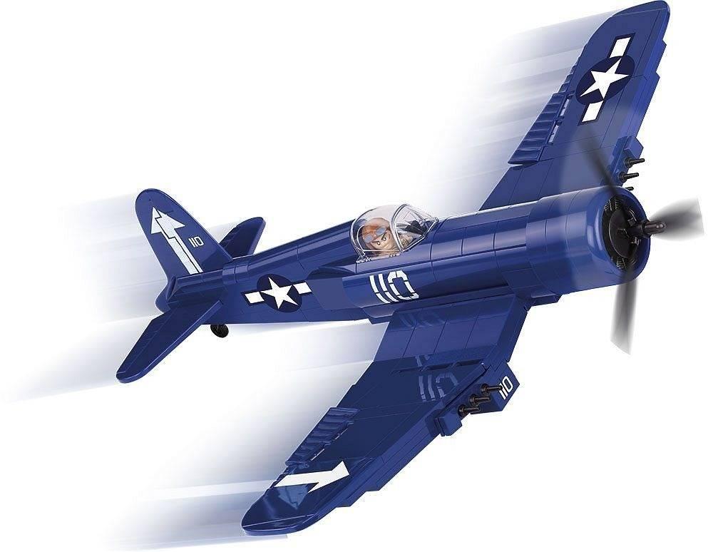 COBI Guerras - Avião Militar Vought F4U Corsair