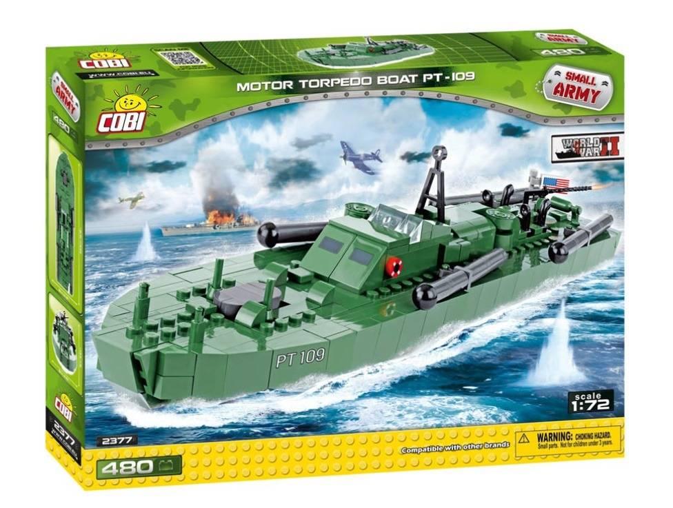 COBI GUERRAS - Barco Militar Torpedo PT-109