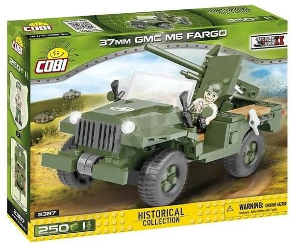 COBI Guerras - Jeep Americano Anti Ataque 37 mm GMC M6 Fargo