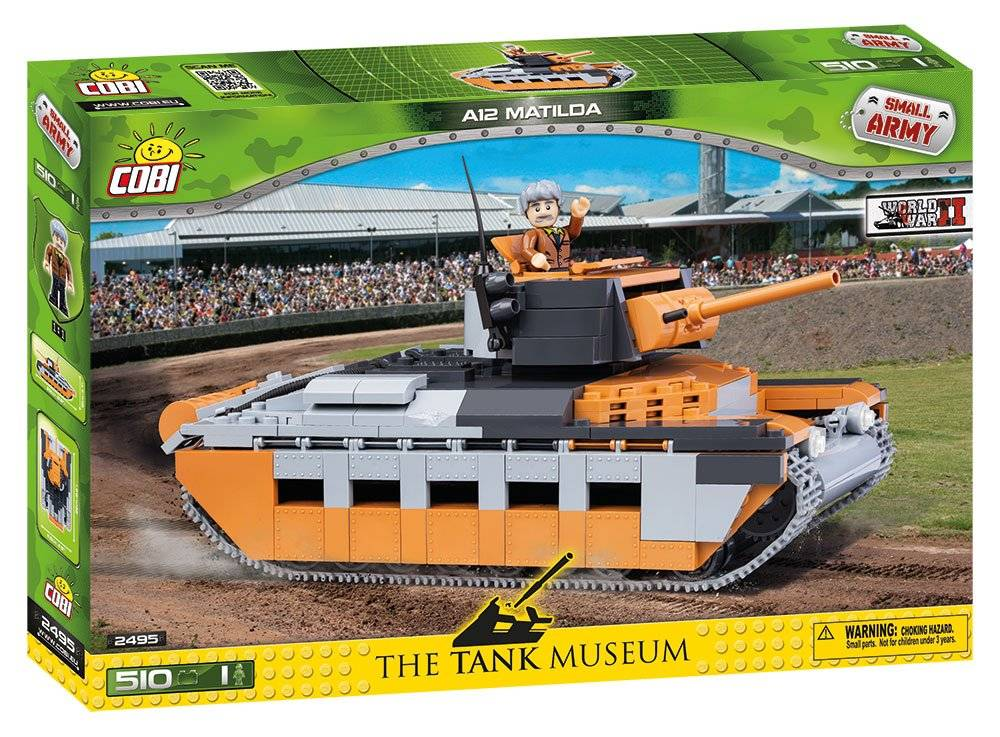 COBI Guerras - Tanque A12 Matilda - 510 Peças