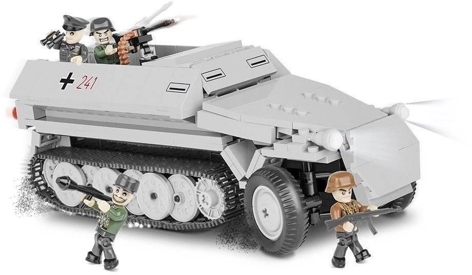 COBI Guerras - Tanque SD.KFZ. 251 Hanomag - 400 Peças