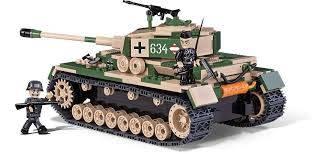 COBI Guerrras - Tanque Alemão Panzer IV AUSF. F1/G/H - 500 Peças