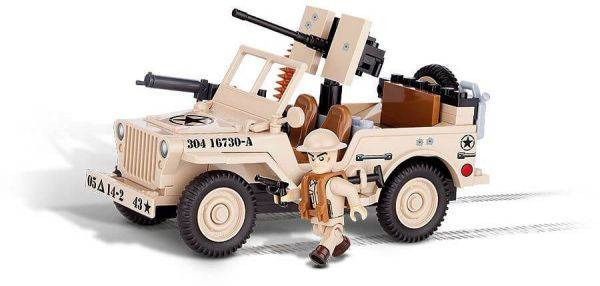 COBI Jeep - Willys MB North Africa 1945