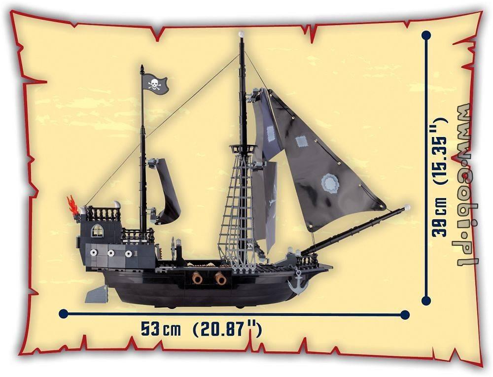 COBI Piratas - Caravela Pirata - Pirate Ship