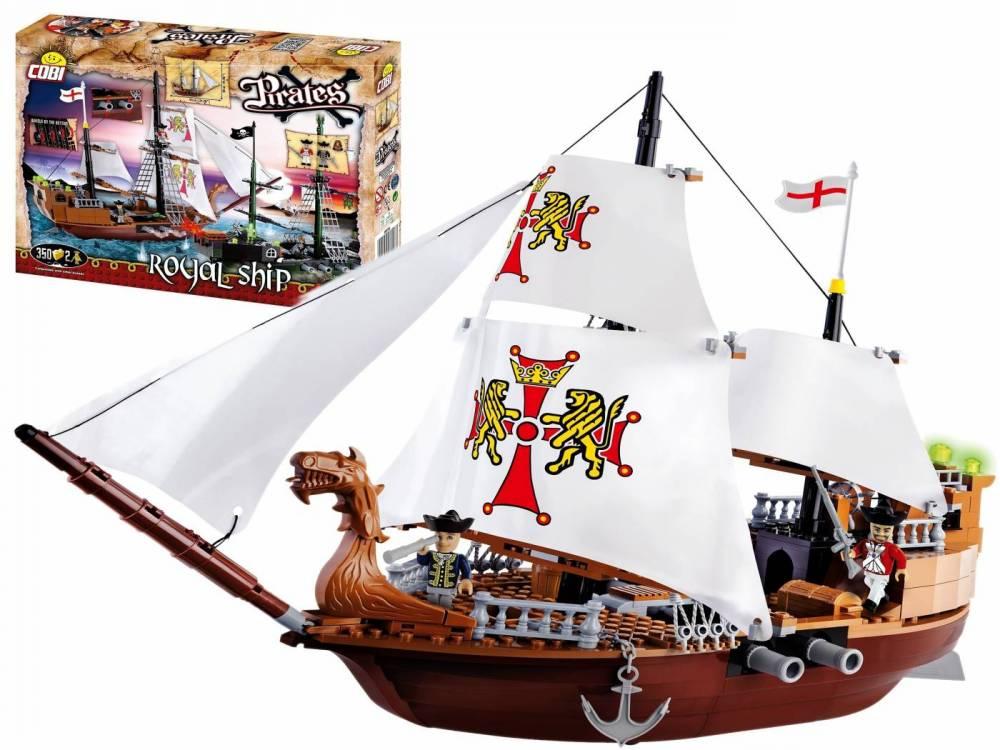 COBI Piratas - Royal Ship 6018