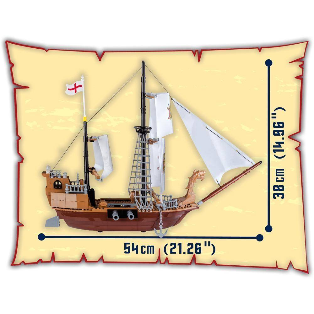 COBI Piratas - Royal Ship 6018
