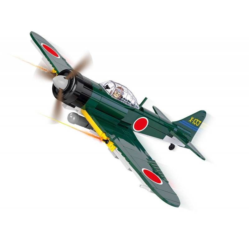 COBI  Small Army - Avão Militar Mitsubishi A6M3