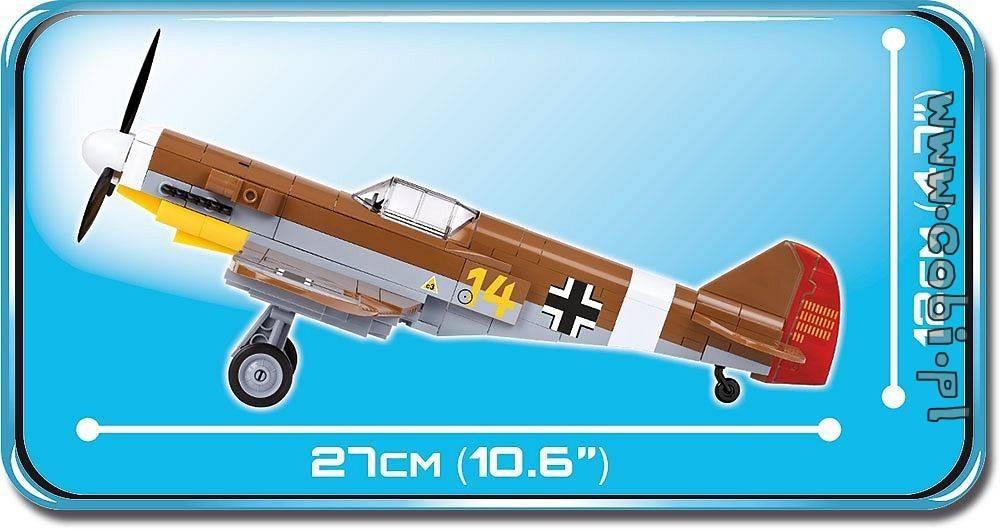 COBI Small Army - Aviao Messerschmitt BF-109 f-4 Trop