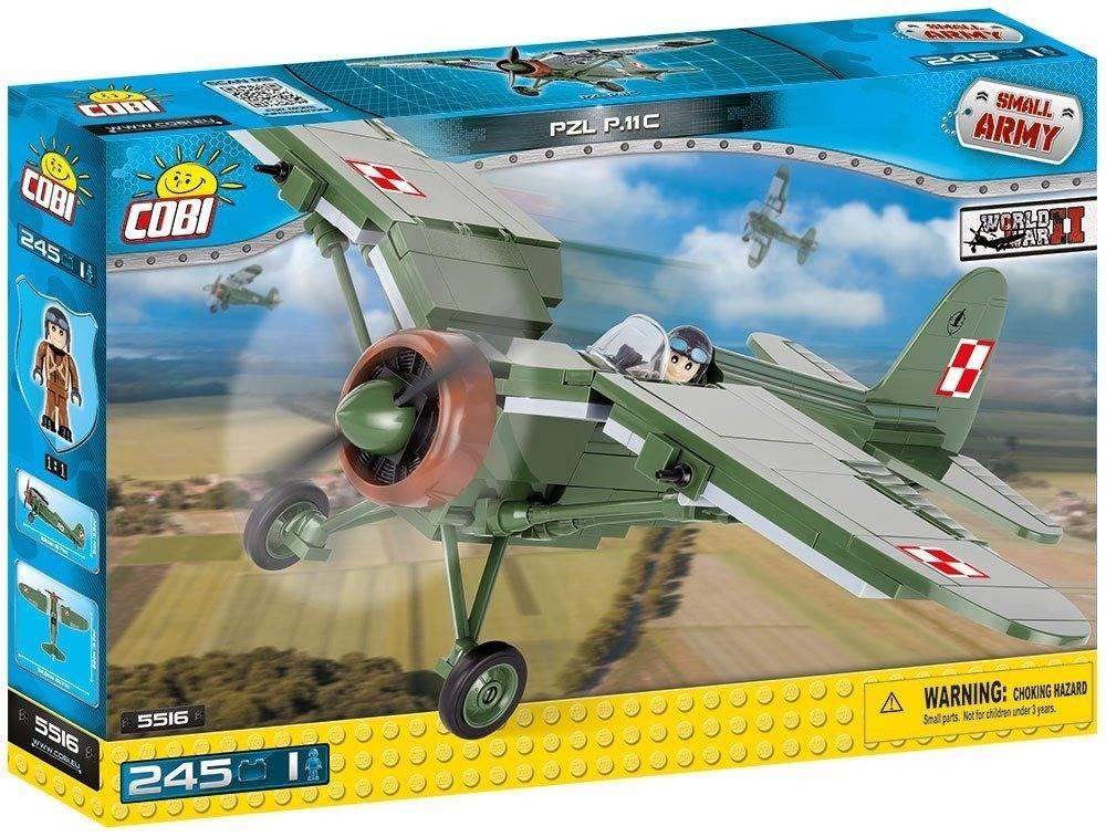 COBI Small Army - Avião Militar PZL P.11C 5516