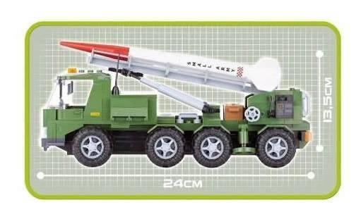 COBI Small Army - Caminhão Lançamento Míssel Militar