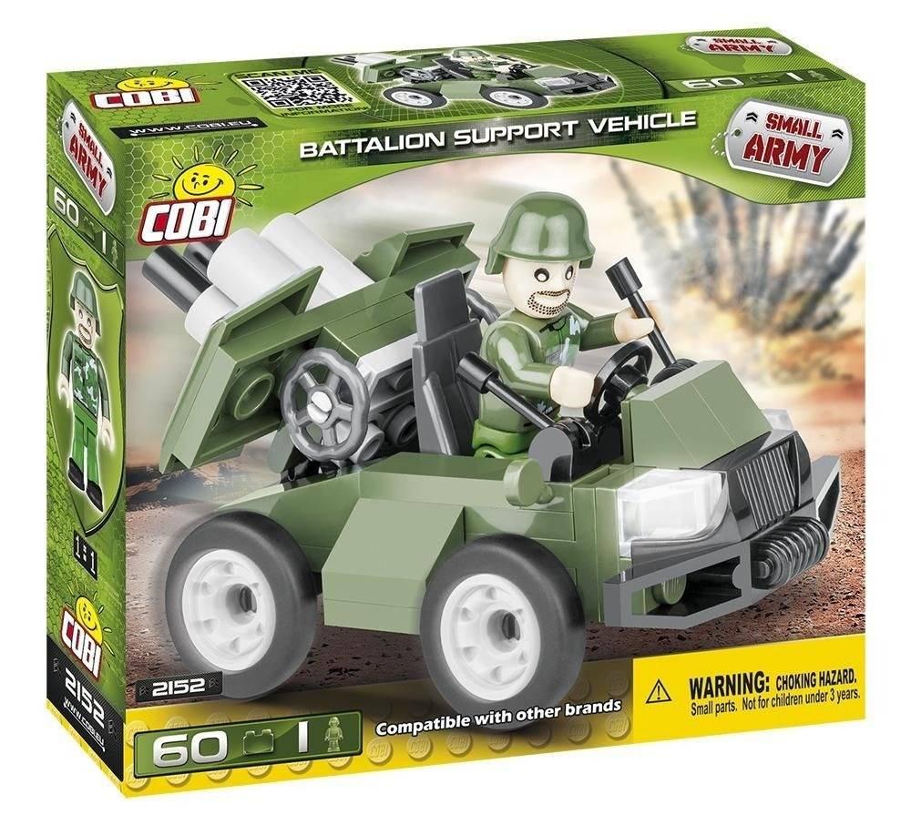 COBI Small Army - Carro Militar Batalhão