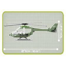 COBI Small Army - Helicóptero Eagle Attack