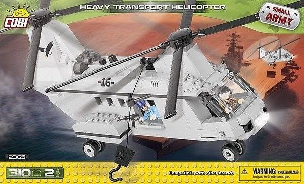 COBI Small Army - Helicóptero Militar
