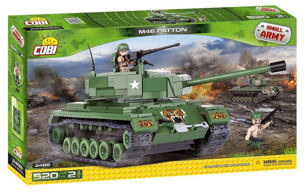 COBI Small Army - Tanque Americano M46 Patton