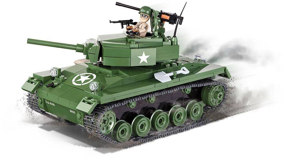 COBI Small Army - Tanque M24 com 360 Peças