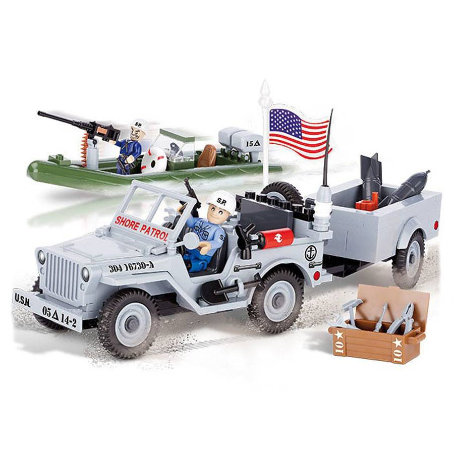COBI Small Army - Willys MB Navy