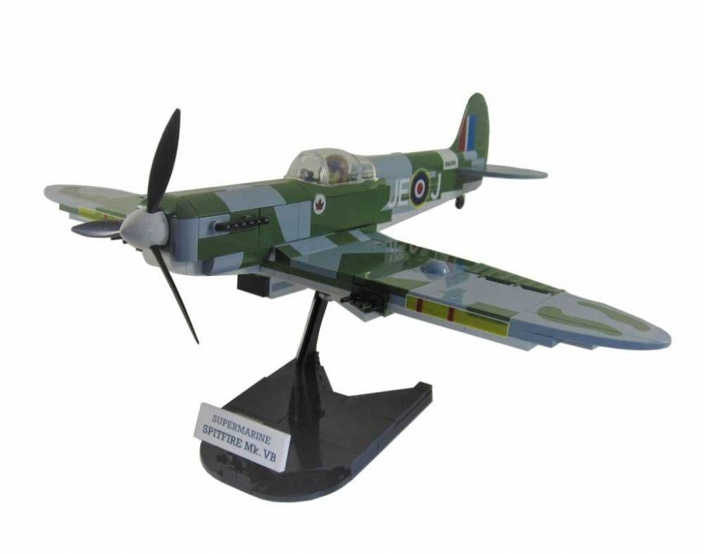 COBI World War - Avião Supermarine Spitfire MK. VB 5512