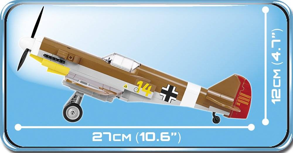 COBI World War II - Messerschmitt BF 109 - African Mission 5544