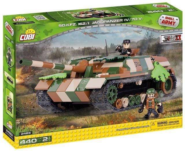 COBI World War II - SD.Kfz. 162/1 O JagdPanzer IV / 70 (v)
