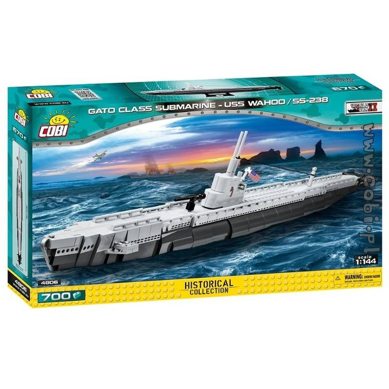 COBI World War II - Submarino USS Gato Class - USS