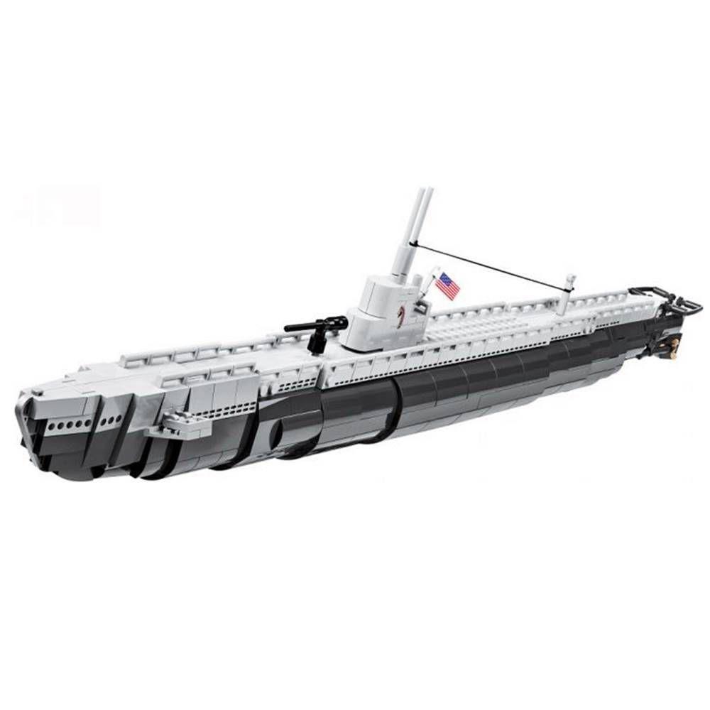 COBI World War II - Submarino USS Gato Class - USS