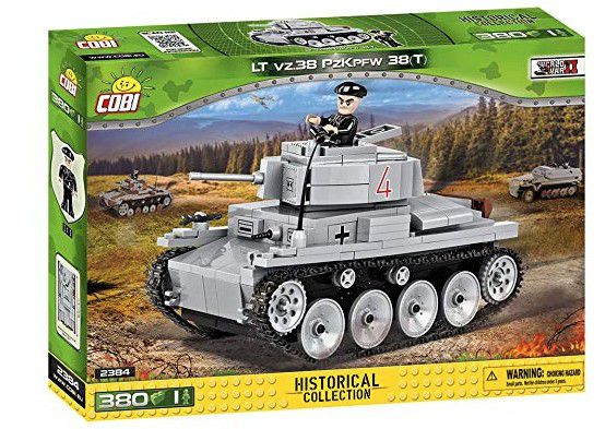 COBI World War II - Tanque LT vz.38 PzKpfw 38(T) 2384