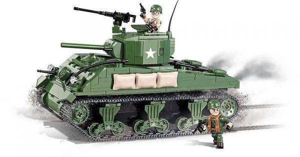 COBI World War II - Tanque Militar Sherman M4A1