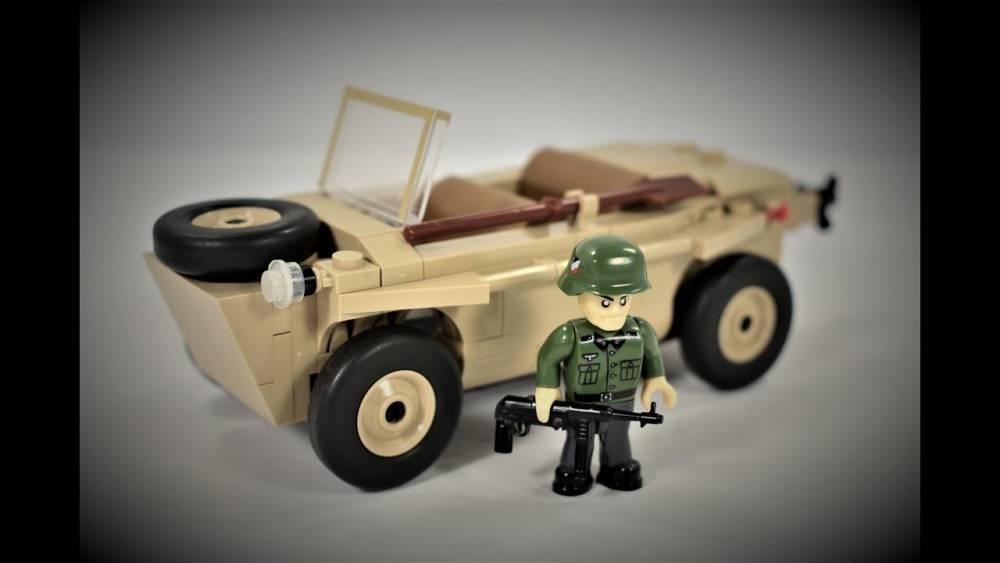 COBI World War II - VW TYP 166 Schwimmwagen