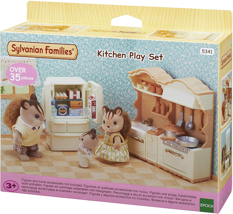 Conjunto Cozinha e Acessórios Sylvanian Families