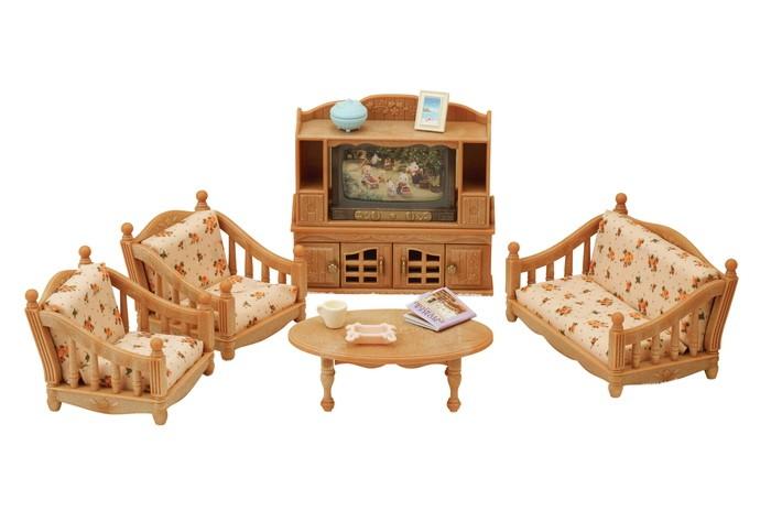 Conjunto Sala De Estar Confortável Sylvanian Families