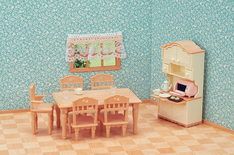 Conjunto Sala de Jantar Clássica Sylvanian Families
