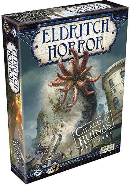 Eldritch Horror - Cidades em Ruínas (EXPANSÃO)