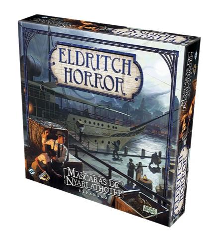 Eldritch Horror - Mascaras de Nyarlathotep (Expansão)