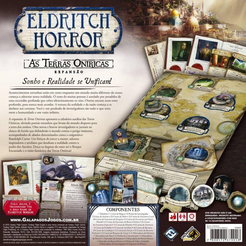 Eldritch Horror - Terras Oníricas (Expansão)