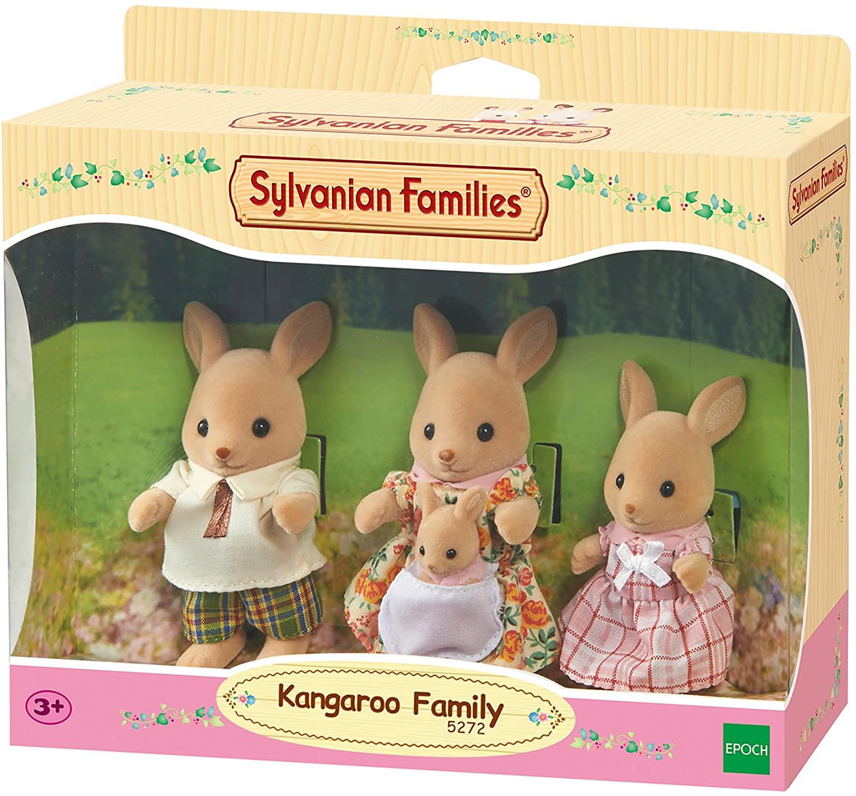 Família dos Cangurus Sylvanian Families
