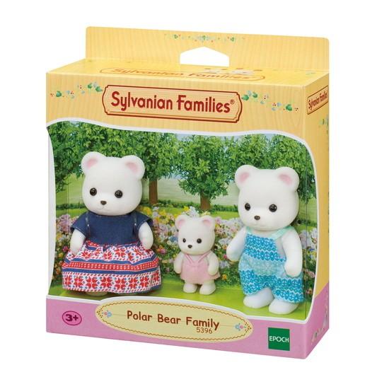Família Dos Ursos Polares Sylvanian Families