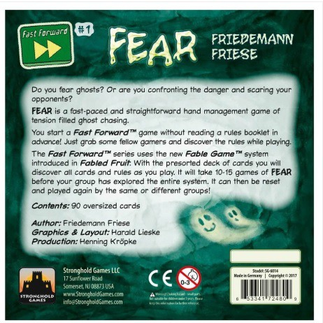 Fear - Jogo de Tabuleiro