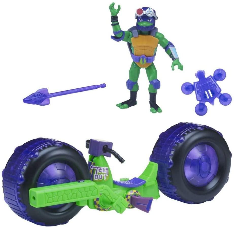 Figura Com Veiculo Tartarugas Ninjas Leonardo Sunny 2043