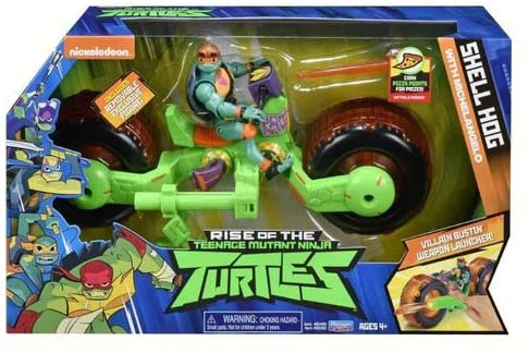 Figura Com Veiculo Tartarugas Ninjas Michelangelo Sunny 2043