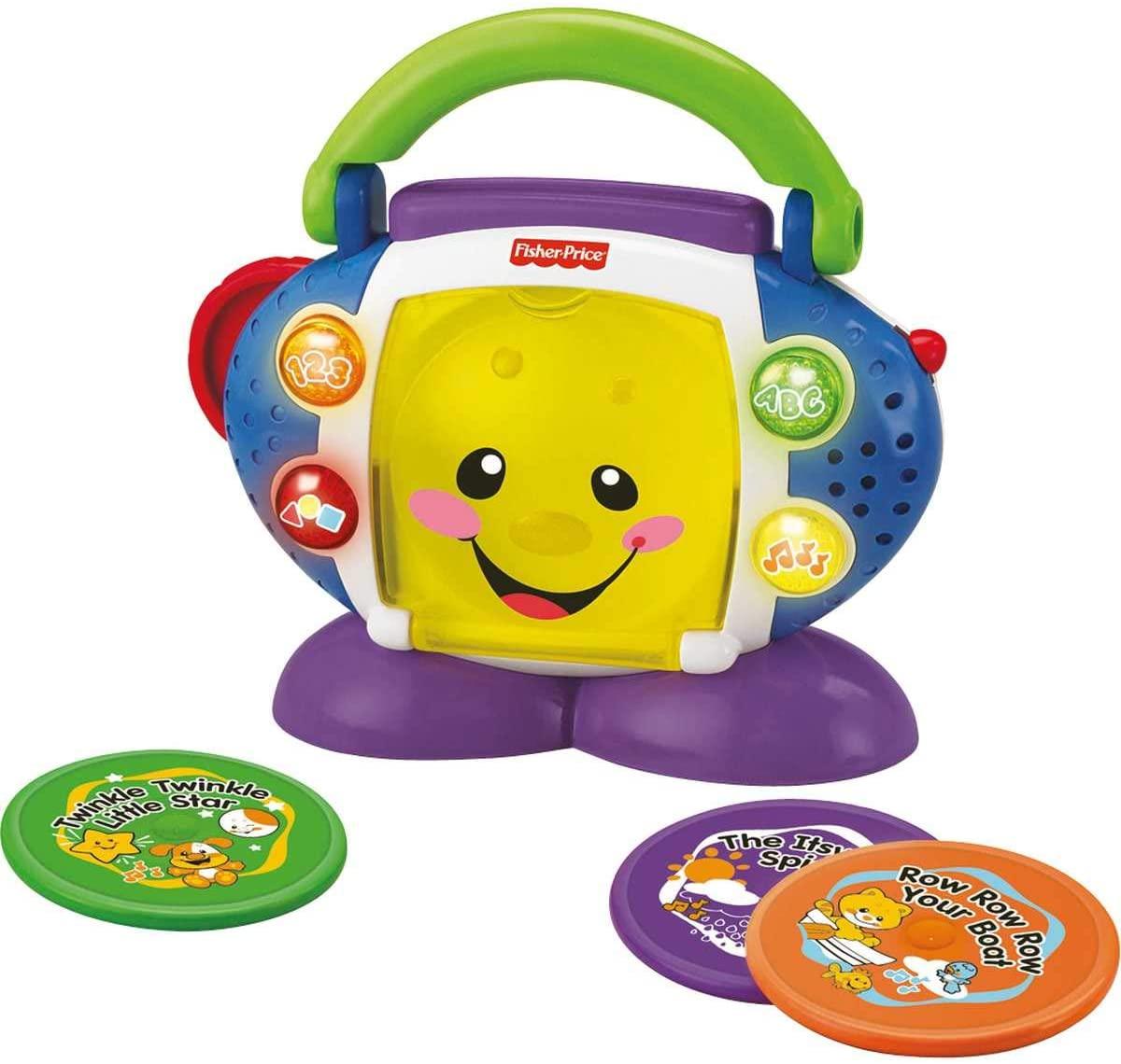 Fisher Price - Aprender e Brincar CD Player