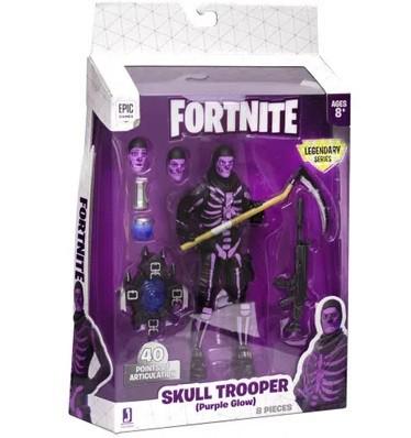 Fortnite Série Legendária - Skull Trooper Purple Glow