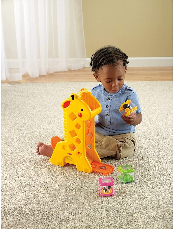 Girafa Blocos Pick a Block -  Fisher Price