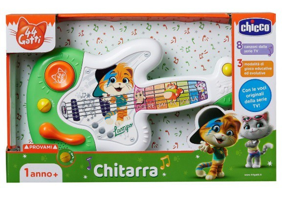 Guitarra 44 Gatos - Chicco