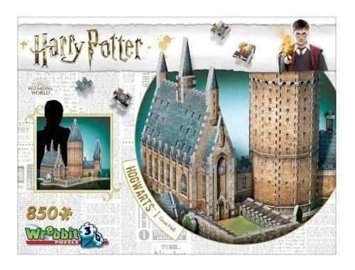 Harry Potter Quebra-Cabeça 3D - Hogwarts - Salão Principal