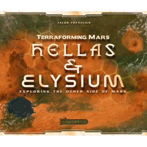 Hellas & Elysium - Expansão Terraforming Mars