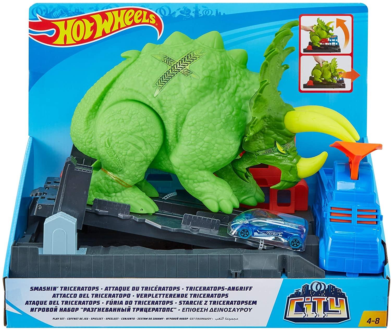 Hot Wheels -  Ataque de Triceratops