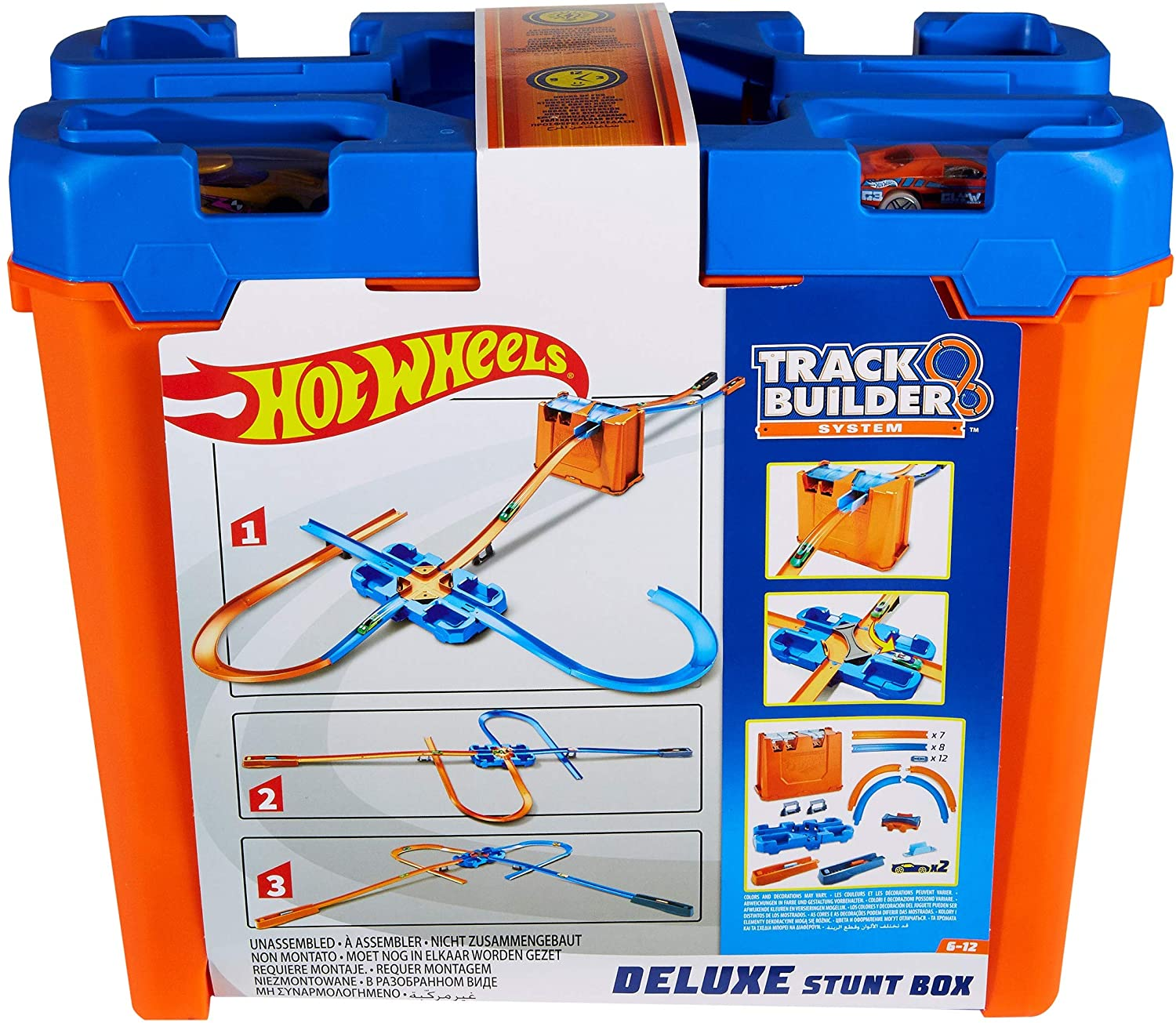 Hot Wheels - Caixa de Manobra Deluxe