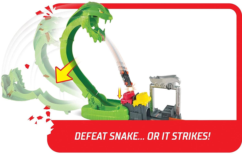 Hot Wheels City -  Ataque Tóxico Da Serpente