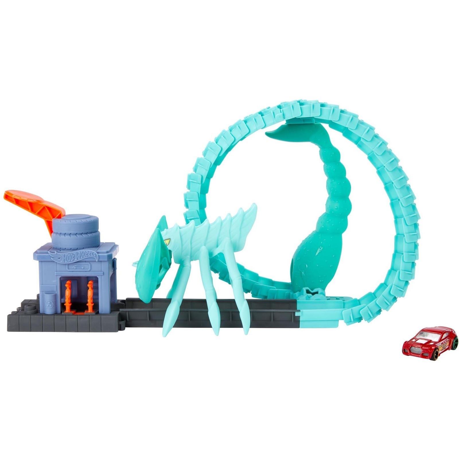 Hot Wheels City - Ataque Tóxico Do Escorpião GTT67