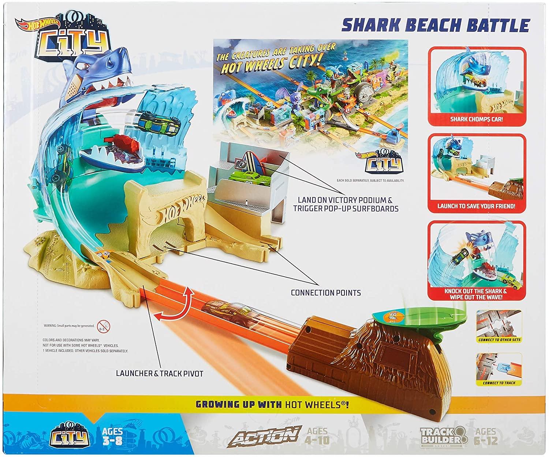 Hot Wheels City - Conjunto Ataque Tubarão